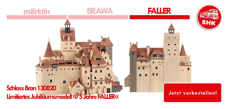Neuheiten von Faller - Schloss Bran