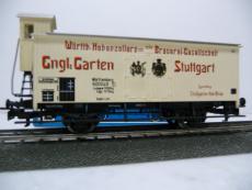 4677 Gedeckter Kühlwagen Privatwagen Stuttgarter Hofbräu - Märklin H0