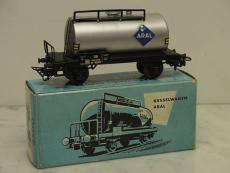 4500-5 Kesselwagen von ARAL aus 1966 im Originalkarton - Märklin H0