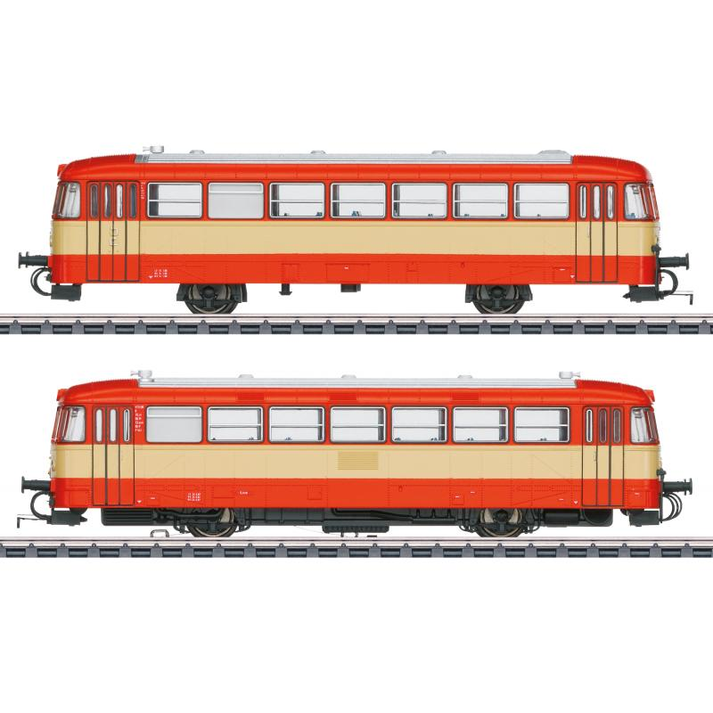 39976 Triebwagen Baureihe VT 3.09 orange/beige der AKN Epoche IV - Märklin H0
