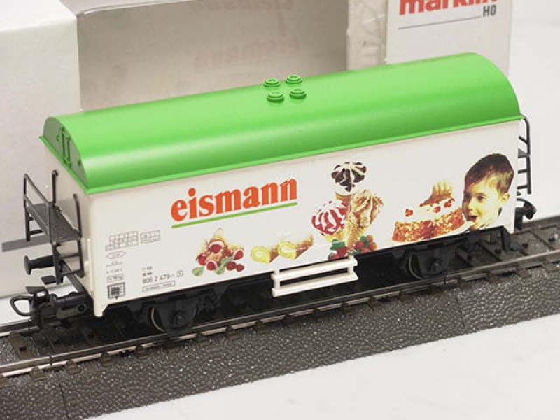 Märklin H0 44185 Kühlwagen Eismann Tiefkühl- Heimservice GmbH & Co. KG, Mettmann.