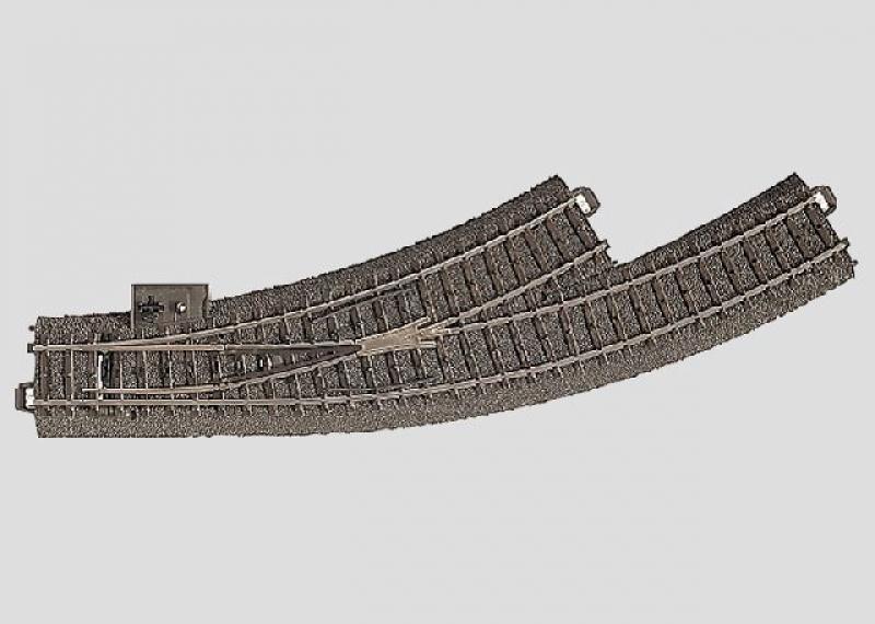 24671 Bogenweiche links R1 = 360 mm / 30°. Außenbogen: 30° Märklin H0