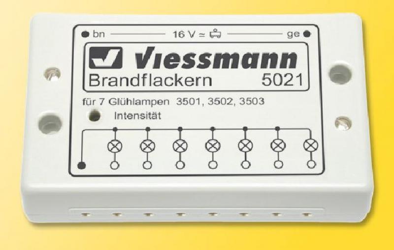 5021 Brandflackern Viessmann