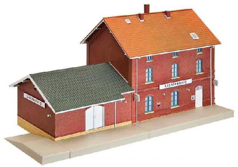 Bahnhof-Set Lichtenberg Faller H0 110120