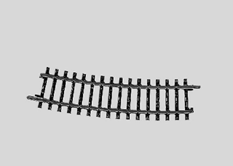 2233 gebogenes K-Gleis Radius 424,6mm 1/2 Märklin H0