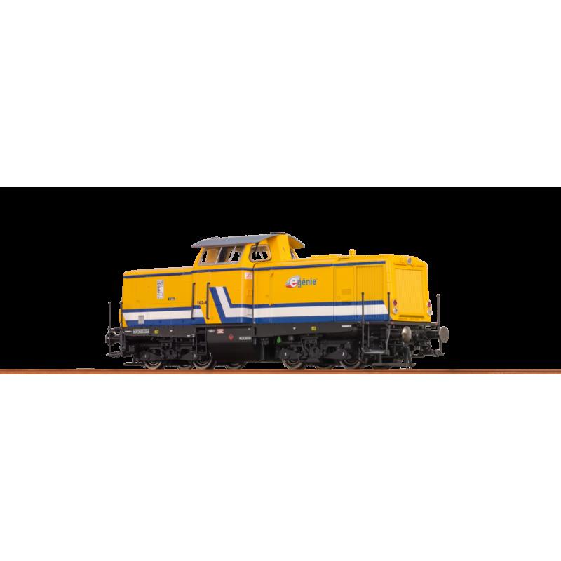 42825 Digitale Diesellok BR 212 E-Genie SAS Epoche VI - Brawa H0