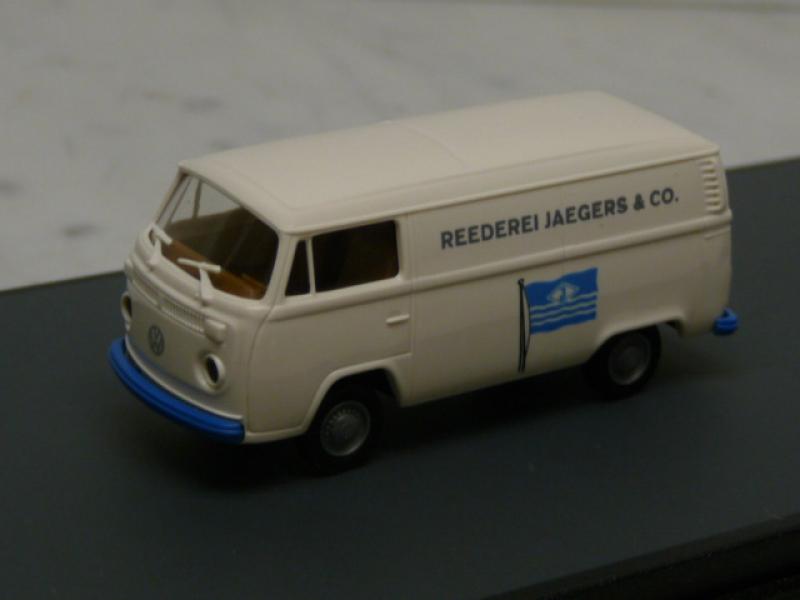 VW T2 Kasten Reederei Jaegers Duisburg Brekina H0