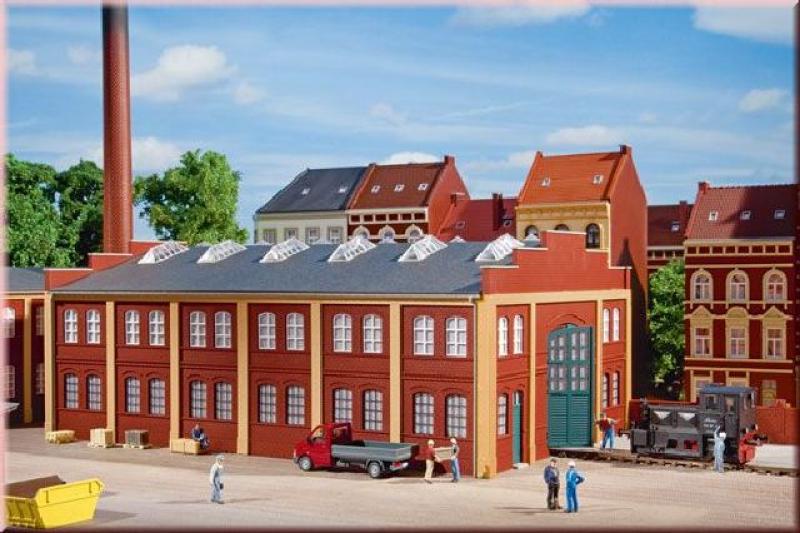 11422 Werkhalle Auhagen H0