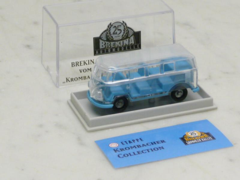 VW T1 Bus Krombacher Collection durchsichtig Brekina H0 1:87