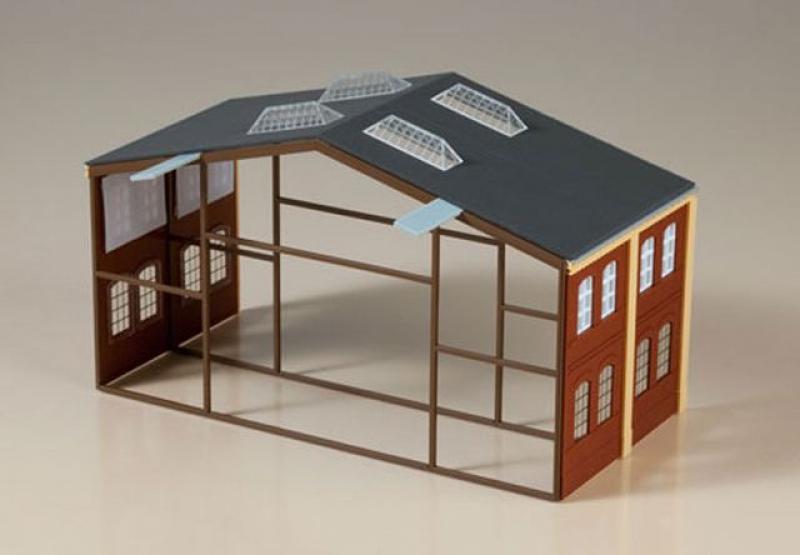 80100 Erweiterung Werkhalle Auhagen H0