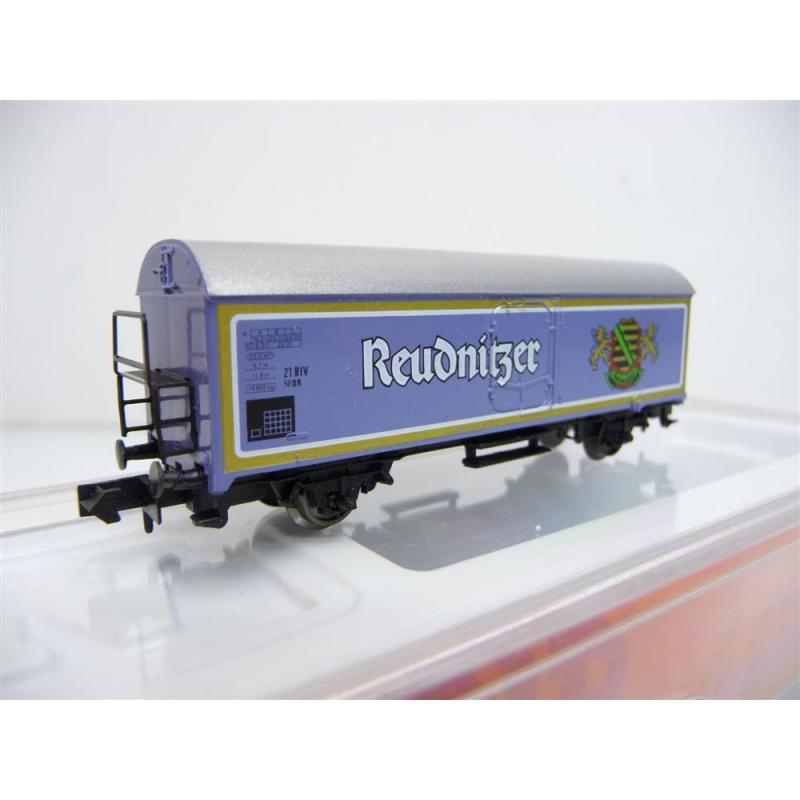 Arnold N 4591 Kühlwagen / Bierwagen 2-achsig violett Reudnitzer