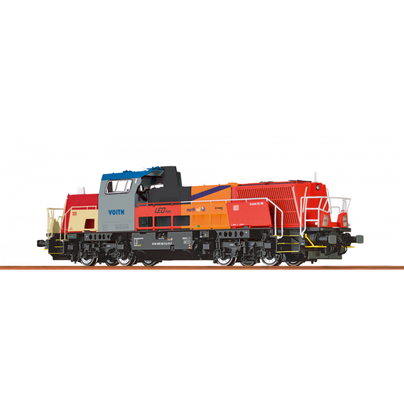 42728 Diesellok Gravita 15D BR 265 265 302-0 Basic+ - Brawa H0