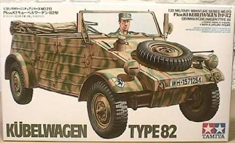 Kübelwagen Type 82 Tamiya 1:35 35213