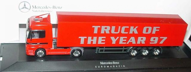 227216 MB Actros LH Fv Cv KoSzg 2/3 Truck Of The Year 97 rot,