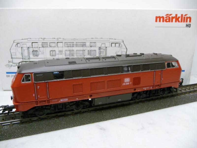3373 Diesellok V 216 068-7 DB verkehrsrot - Märklin H0