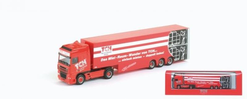 281959 DAF XF Integralkoffer-Sattelzug TCH