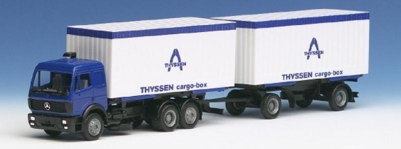 826090 MB SK 88 We-Ko-HZ Thyssen cargo-box Herpa