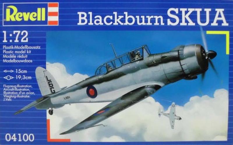 04100 Blackburn SKUA Revell 04100 1:72