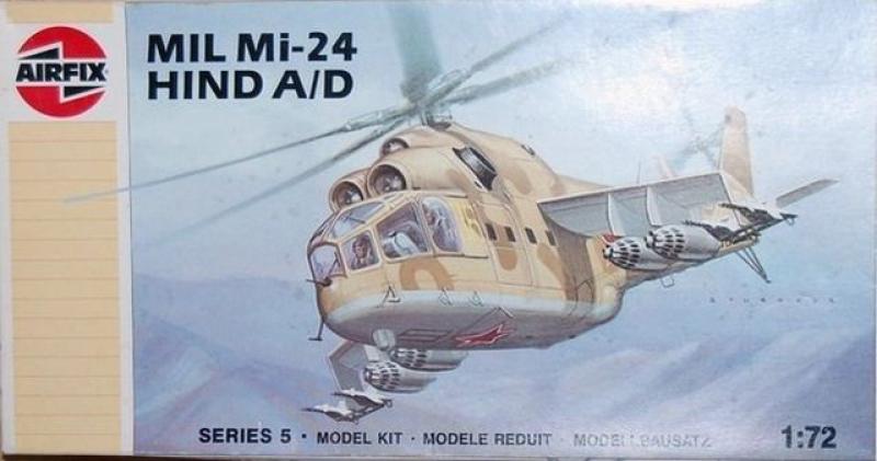 05023 Kampfhubschrauber MIL Mi-24 HIND A/D Airfix 1:72