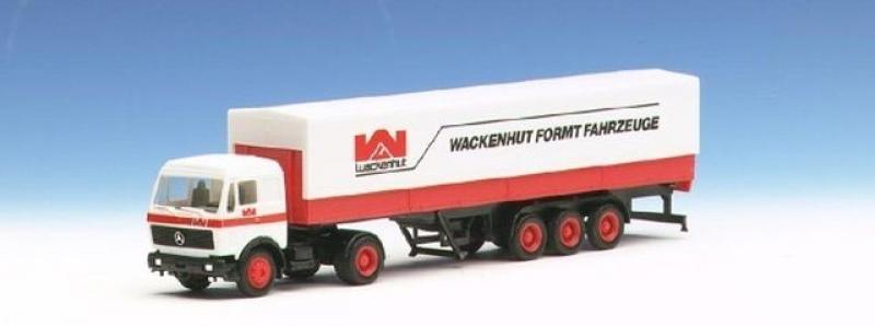 811549 MB Pritsch/Plane Sz Wackenhut Formit Fahrzeuge Herpa