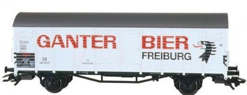 46201 Insiderwagen 2004 Bierwagen Ganter Bier Freiburg - Märklin H0