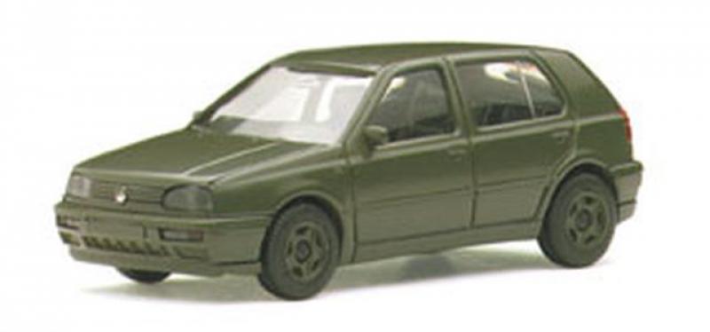 on sale 41878 1ec50 700382 VW Golf III GL 4-türig Bundeswehr Herpa / Maag ...