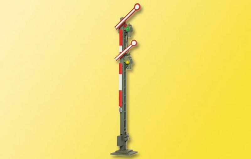 4531 Form-Hauptsignal Schmalmast 2 gekoppelten Fl