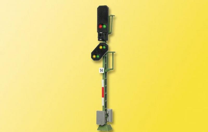 4014 H0 Licht-Blocksignal mit Vorsignal Viessmann