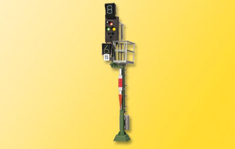 4045 H0 Ks-Mehrabschnittssignal als Einfahrsignal Viessmann