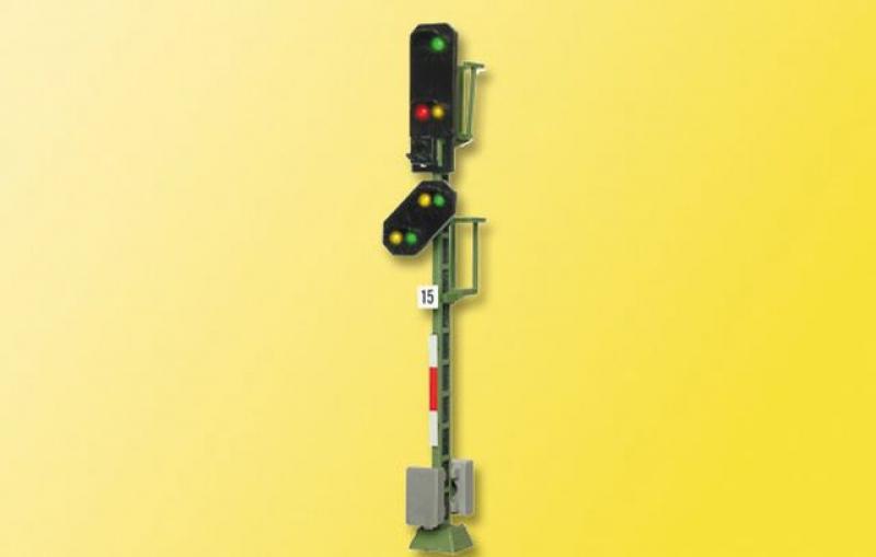 4015 H0 Licht-Einfahrsignal mit Vorsignal Viessmann