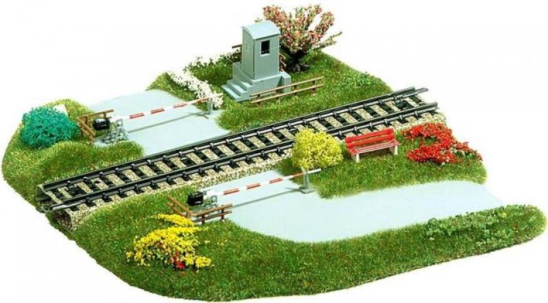 Bahnübergang Busch H0 3210