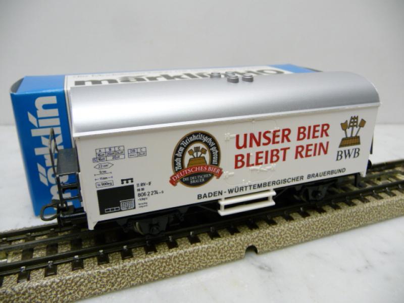 4415 Bierwagen BWB Unser Bier bleibt rein - Märklin H0