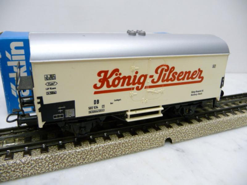 4418 Kühlwagen König-Pilsener aus den 90er Jahren - Märklin H0