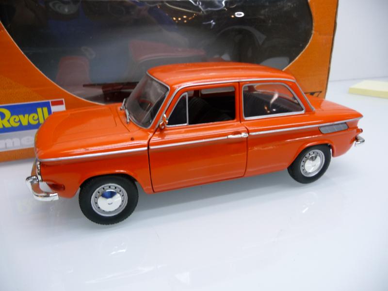 08884 NSU TT Orange 1967 in OVP Revell 1:18
