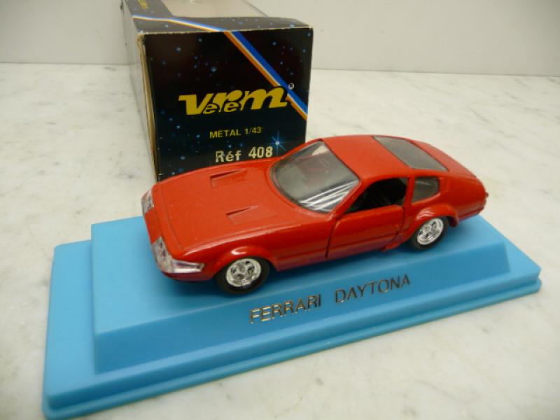 408 Ferrari 365 GTB Daytona rot Street Verem 1:43