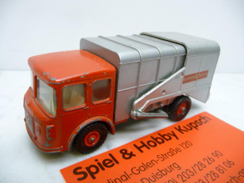 K-7 B Shelvoke & Drewry Refuse Truck 1967 Matchbox