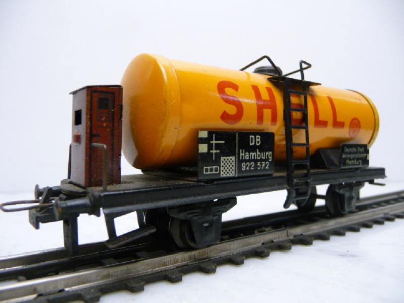 20/78 S Kesselwagen SHELL 2-a Blech Trix Express 1:87