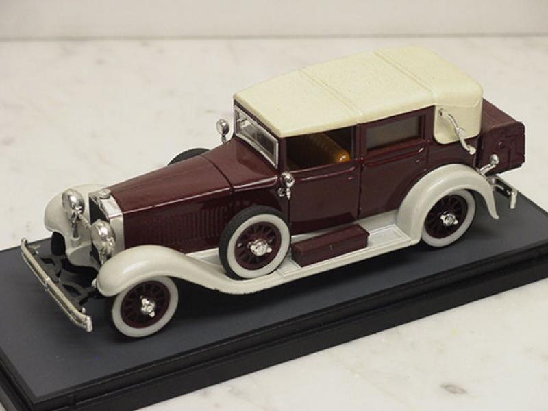 Isotta Fraschini 8a Cabrio 1927 weinrot Rio 1:43
