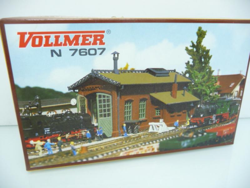 Lokschuppen 1-ständig Vollmer N 7607