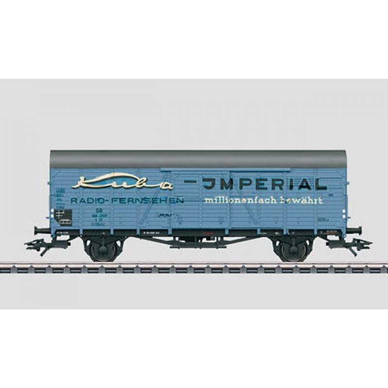 48161 Ged. Güterwagen KUBA Imperial Insiderwagen 2011 Neuwertig! - Märklin H0