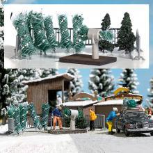 1182 Weihnachtsbaumverkauf - Busch H0