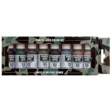 770128 Farbset 5er Panzer Uniformen III 8 x 17 ml - Faller