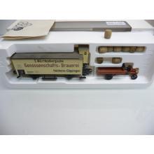 84794 Güterwagen Genossenschafts-Brauerei Set mit Holzfäßchen Museum 1994 - Märklin H0