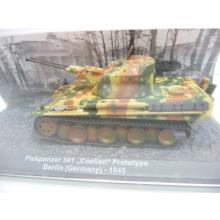 Flakpanzer 341 Coelian Prototype Berlin 1945 - De Agostini 1:72