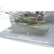 Flakpanzer Gepard FlaRgt.2 Hindenburg-Kaserne Kassel 1979 - De Agostini 1:72