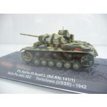 Pz.Kpfw. III Ausf.L. Abt.502 Tortolowo USSR 1942 - De Agostini 1:72