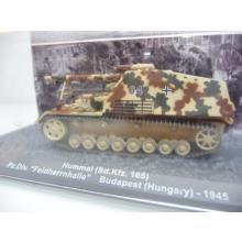 Hummel Sd.Kfz 165 Pz.Div. Feldherrnhalle Budapest 1945 - De Agostini 1:72