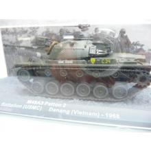 M48A3 Patton 2 1st Tank Battalion USMC Danang 1968 - De Agostini 1:72