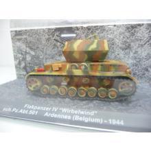 Flakpanzer IV Wirbelwind sch.Pz.Abt.501 Ardennes Belgium 1944 - De Agostini 1:72