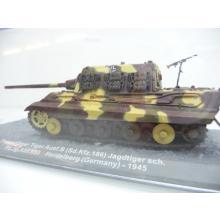 Panzerjäger Tiger Ausf.B. Jagdtiger sch. Pz.Jg.Abt 653 Heidelberg 1945 - De Agostini 1:72